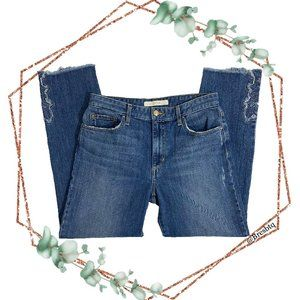 Joes jeans the debbie stright leg crop in thula 28